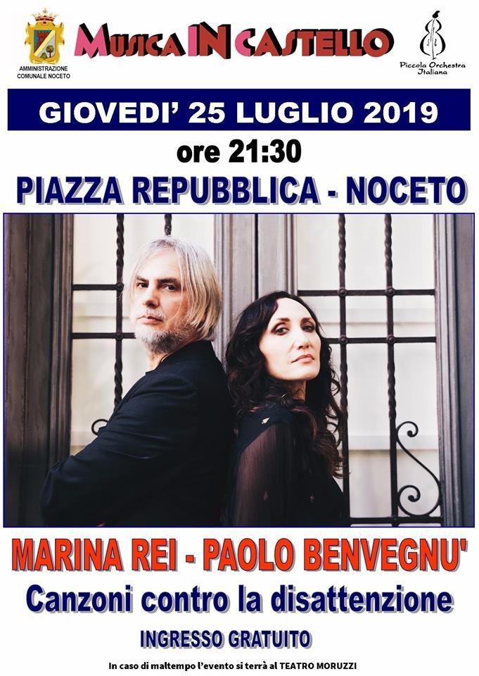 MUSICA IN CASTELLO 2019: Marina Rei