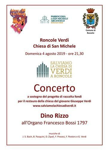 MUSICA IN CASTELLO: Salviamolachiesadiverdi.it – Concerto per illustrare il progetto di restauro della chiesa del giovane Verdi