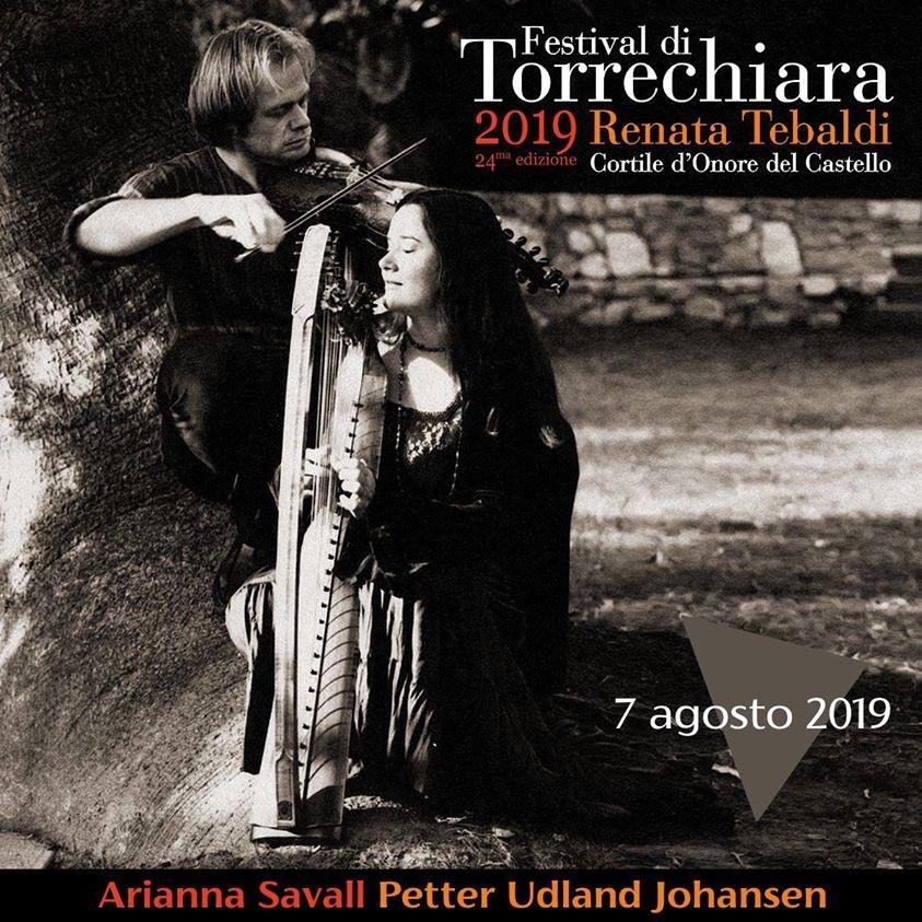 Festival di Torrechiara Renata Tebaldi: Il viaggio d'Amore ARIANNA SAVALL PETTER UDLAND JOHANSEN