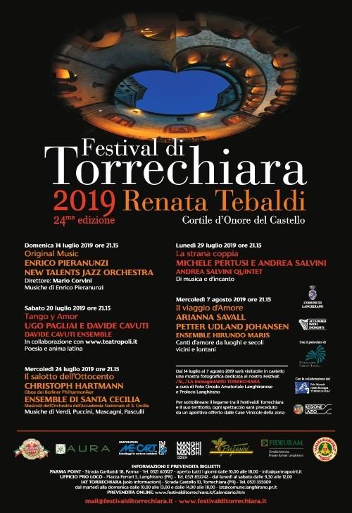 FESTIVAL DI TORRECHIARA RENATA TEBALDI  nel Castello di Torrechiara