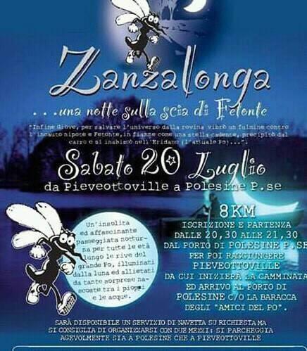 ZANZALONGA, da Pieveottoville a Polesine