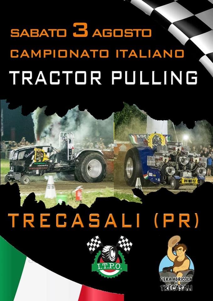 FIERA AGRICOLA DI TRECASALI: campionato italiano di Tractor pulling