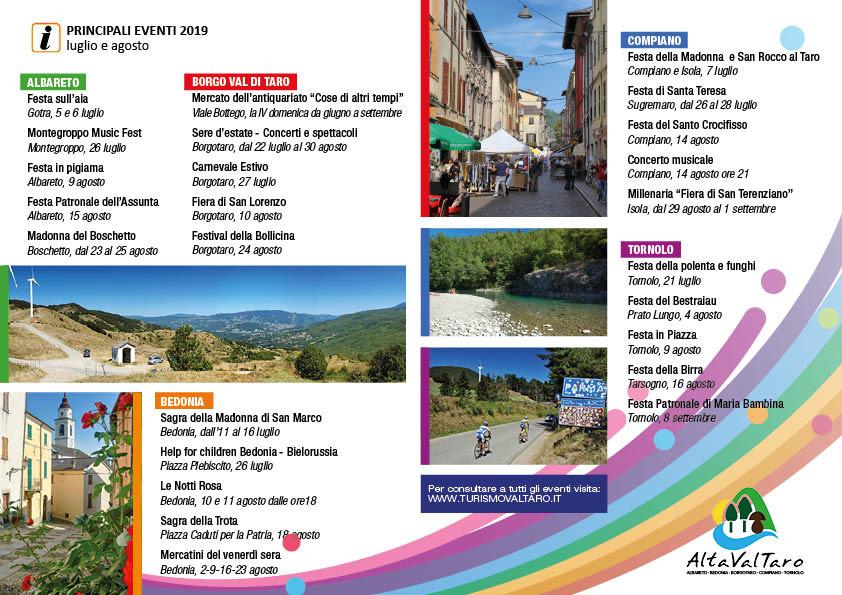 Eventi in Alta Val Taro