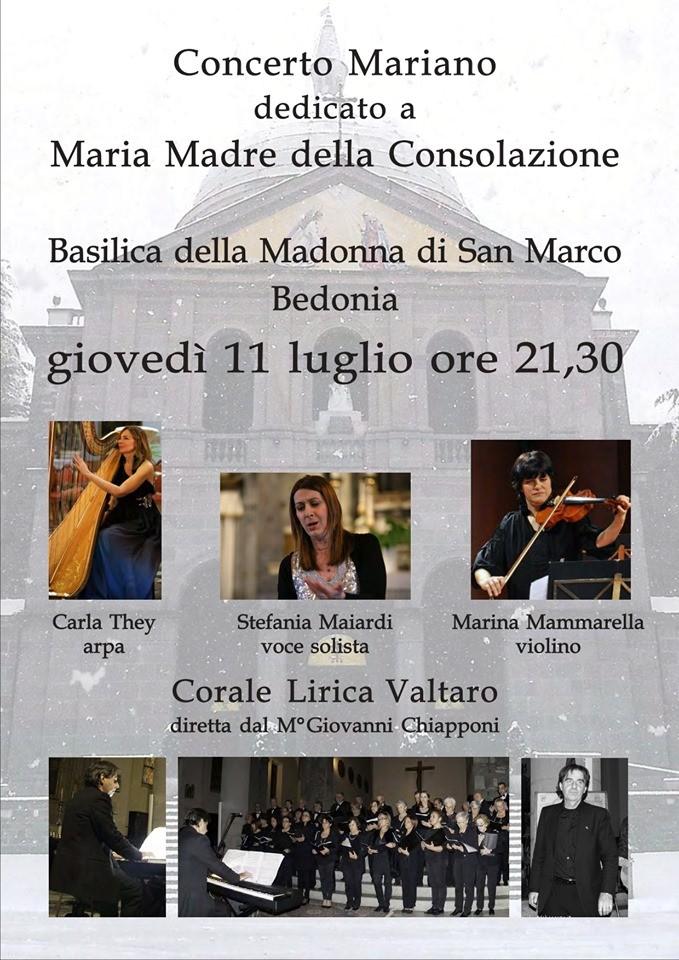 Concerto Mariano a Bedonia