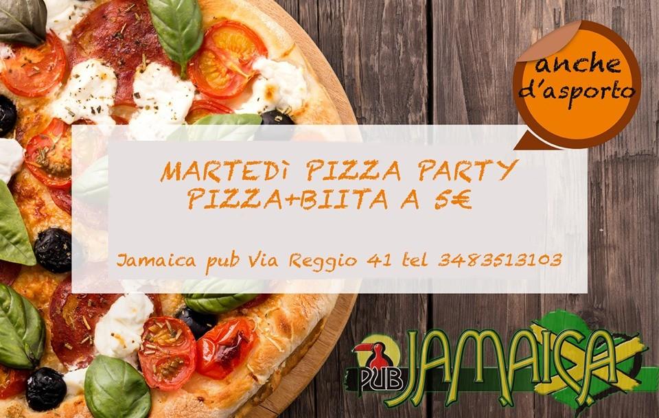 Pizza party al Jamaica