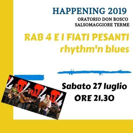 Happening Oratorio don Bosco Salsomaggiore Terme: Rab 4 e i fiati pesanti