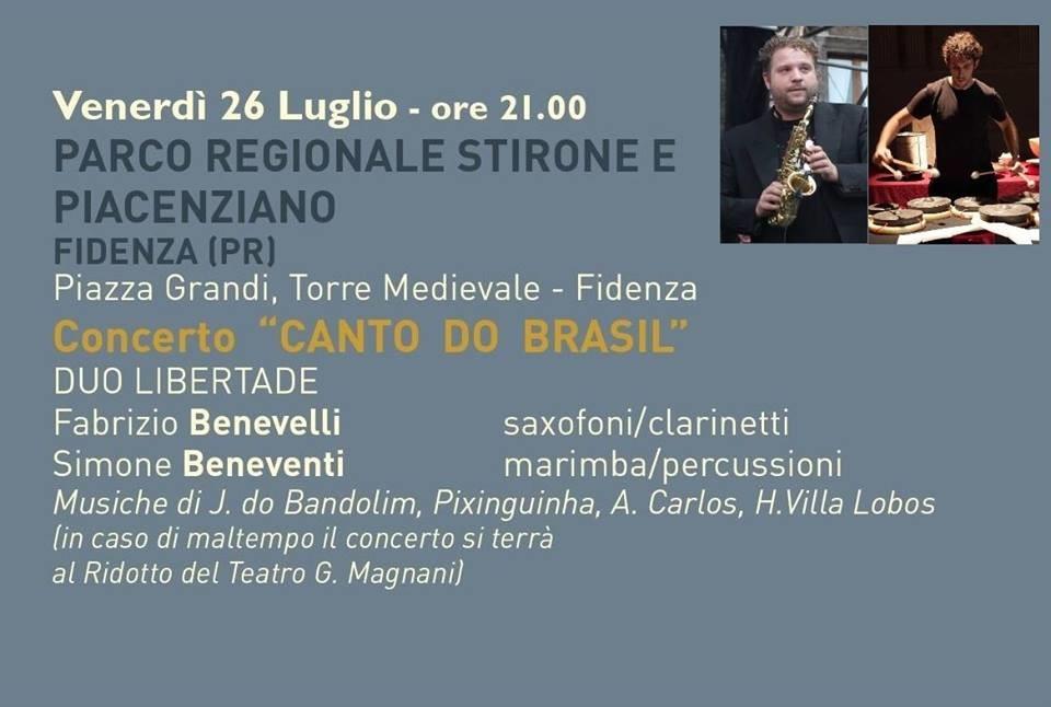 "Concerto ""Canto do Brasil"""