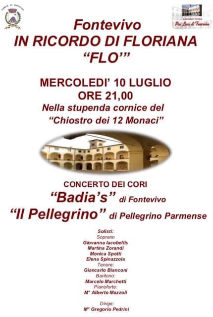 Concerto del Coro Badia's di Fontevivo in memoria di Flo