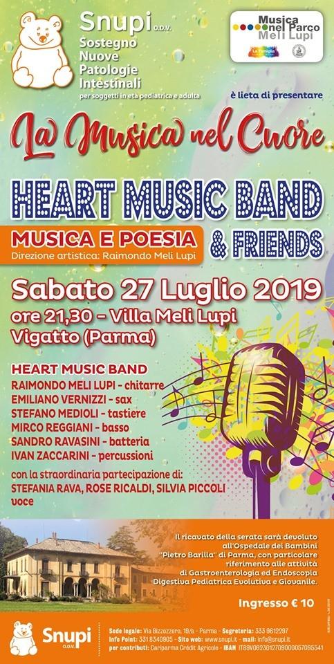 La musica nel cuore alla Villa MeliLupi
