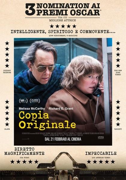 Esterno Notte! il cinema nella Corte del Palazzo delle Orsoline OF:COPIA ORIGINALECan You Ever Forgive Me?