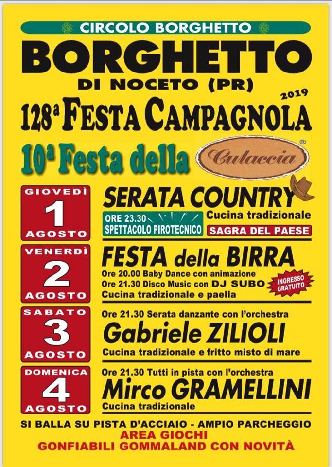 128^ Festa Campagnola a Borghetto