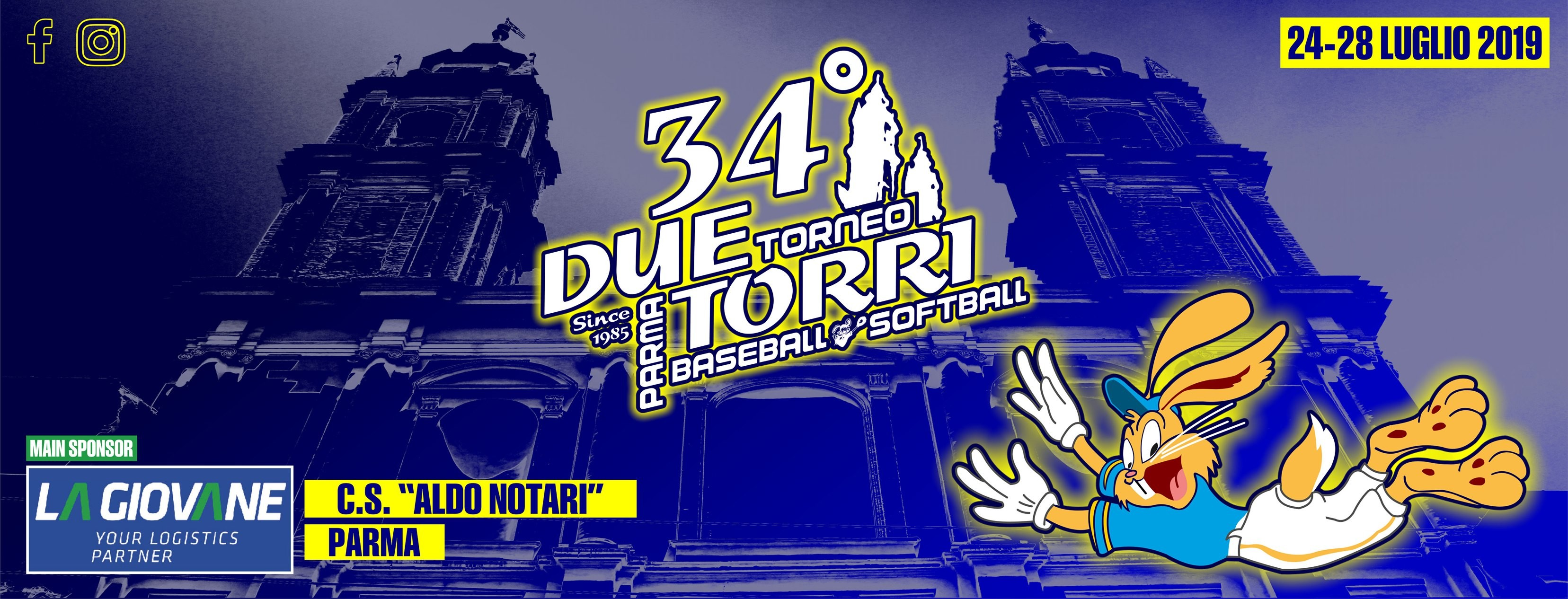 """Torneo """"Due Torri""""! 🎉 Cinque giorni di baseball, softball, cibo e musica per tutti!"""