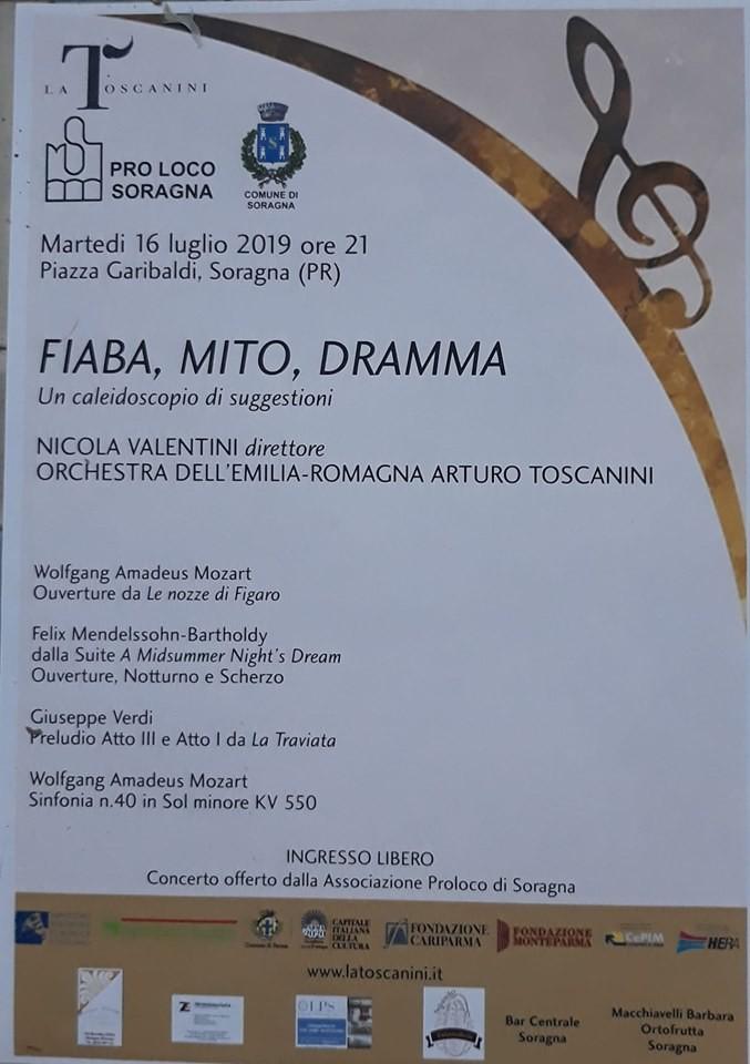 Fiaba, mito, dramma con la Filarmonica Toscanini