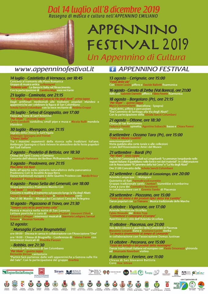 Appennino Festival . Paesaggio , musica, storia , arte , poesia
