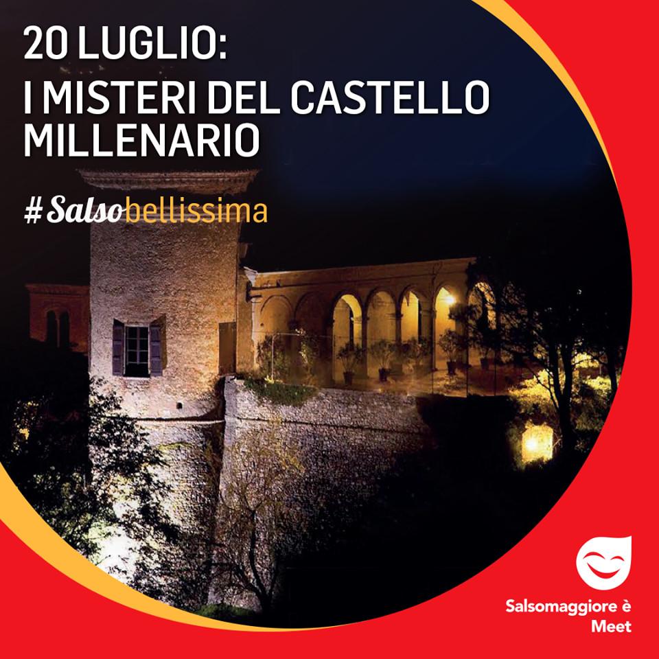 Al Castello di Scipione dei Marchesi Pallavicino straordinaria visita notturna alla scoperta dei luoghi segreti del Castello più antico del Parmense