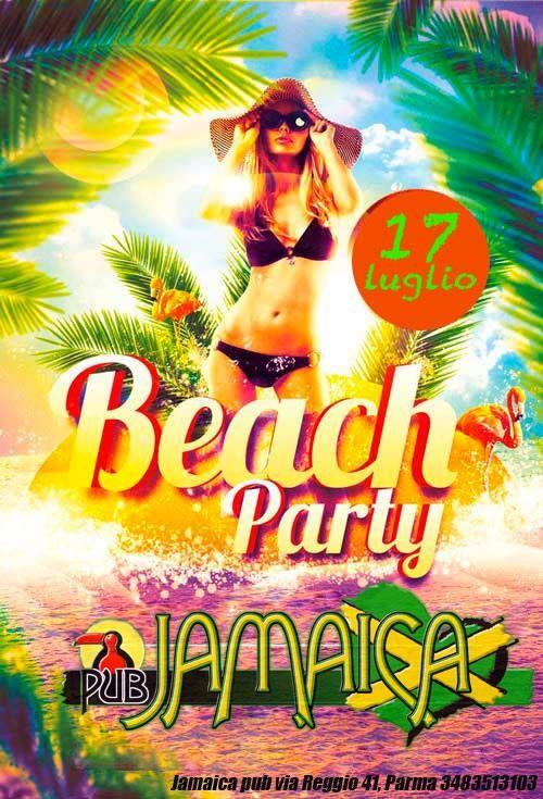 Beach Party al Jamaica