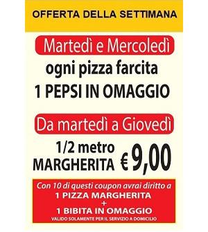Promozioni pizza Fantasy