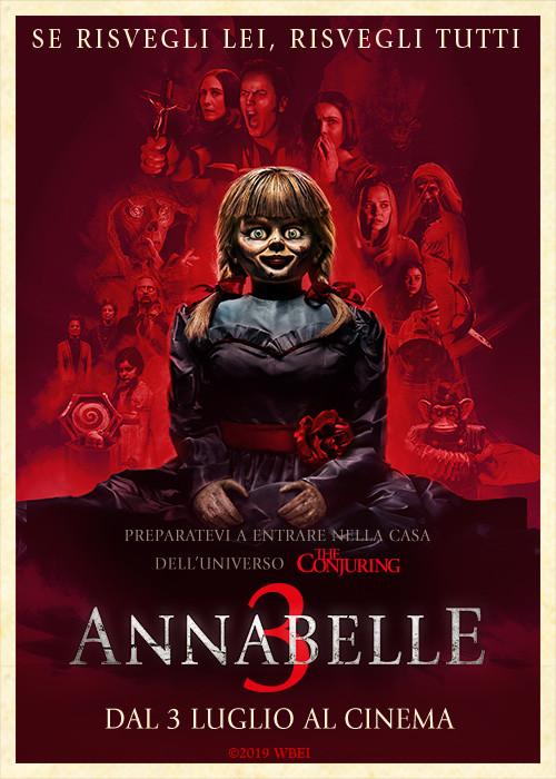 ANNABELLE 3 al cinema Cristallo di Borgotaro