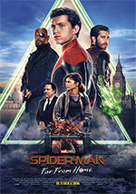 SPIDERMAN far from home al cinema Cristallo di Borgotaro
