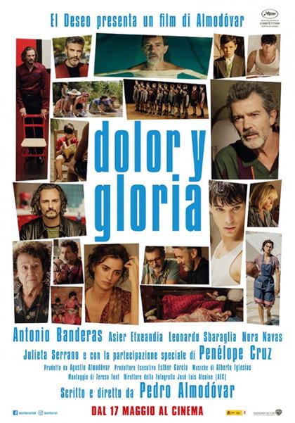 """""""The Original Ones""""  DOLOR Y GLORIA al Cinema D'Azeglio arena estiva"""
