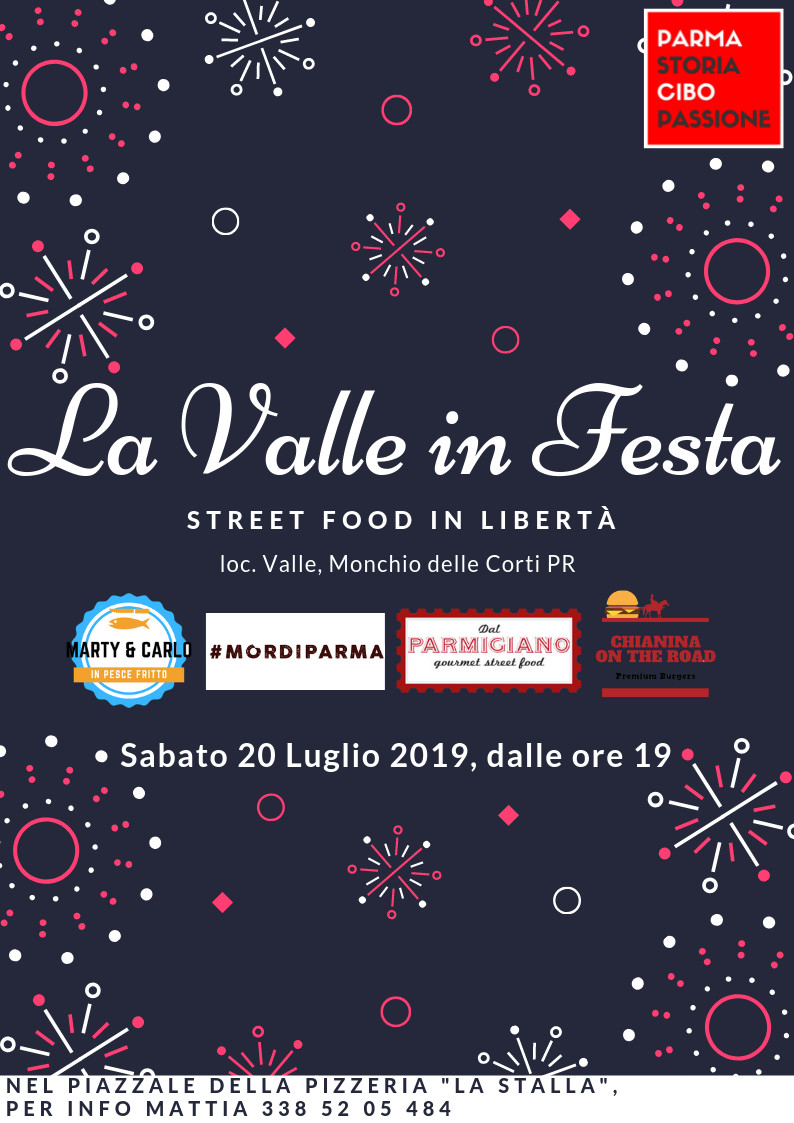 La valle in festa: street food in libertà