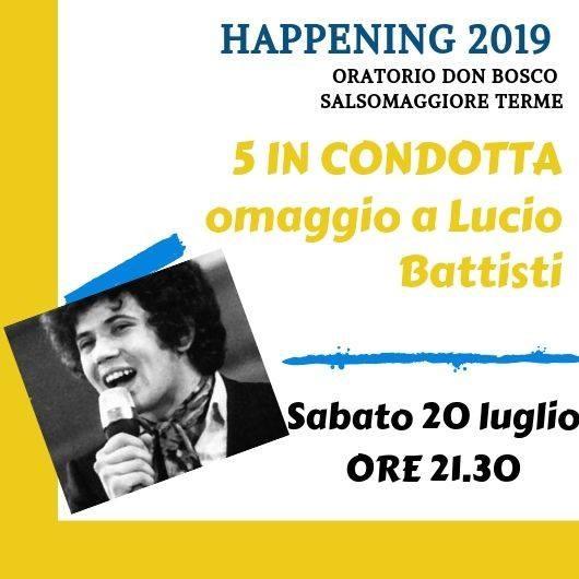 5 in condotta omaggio a Lucio Battisti