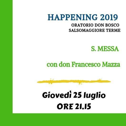 Happening Oratorio don Bosco: S. Messa con il neo sacerdote don Francesco Mazza
