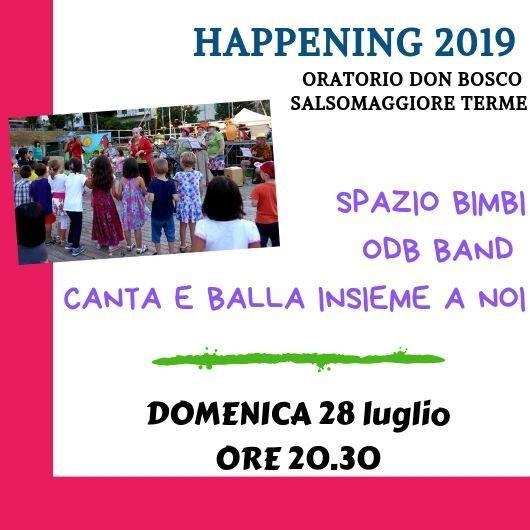 Happening Oratorio don Bosco: ODB Band Canta e balla insieme a noi!