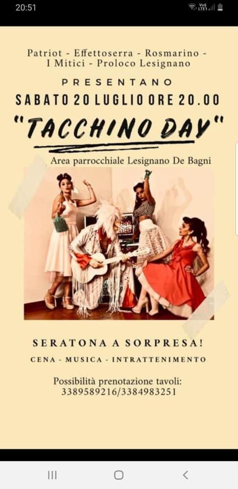 Tacchino day a Lesignano