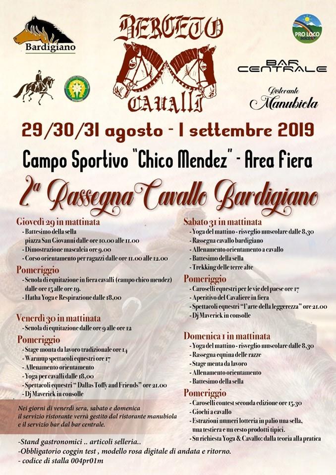Berceto Cavalli 2019