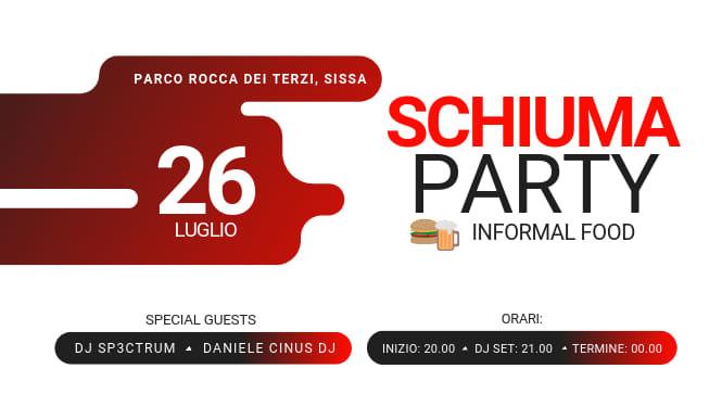 La Féra ad Sisa - Sissa Sagra di San Giacomo: Schiuma Party & Informal Food