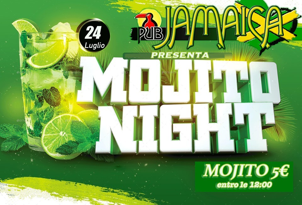Mojito Party al Jamaica Pub