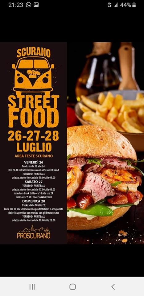 Street foof a Scurano