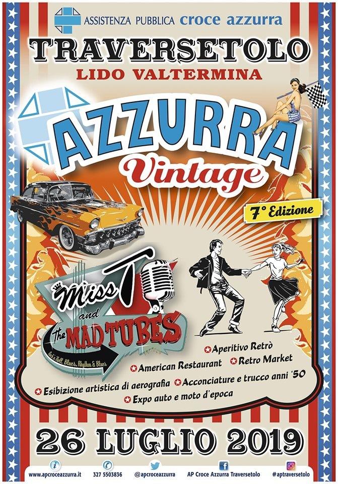 Azzurra Vintage la serata anni 50-60' più scatenata dell'Emilia .