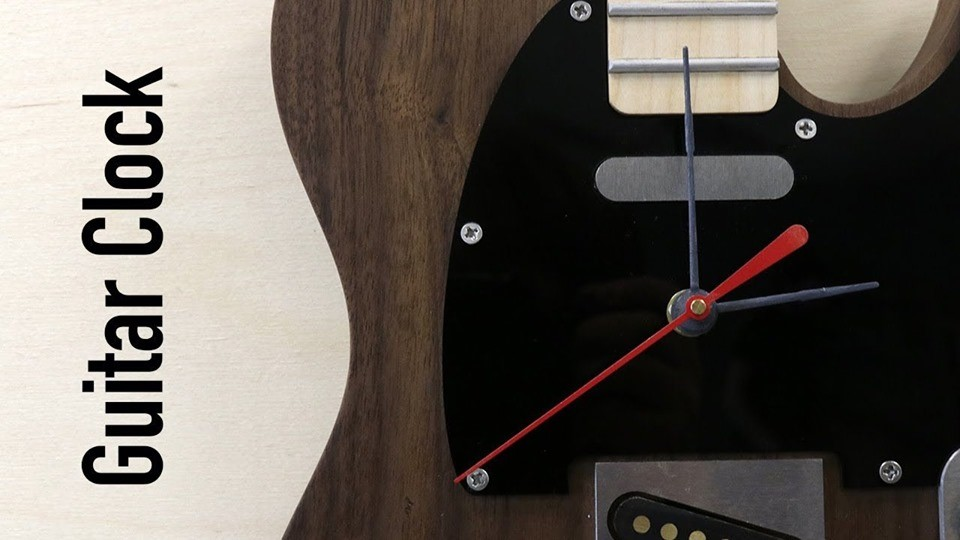 The Guitar Clock ; Can't find my way Home