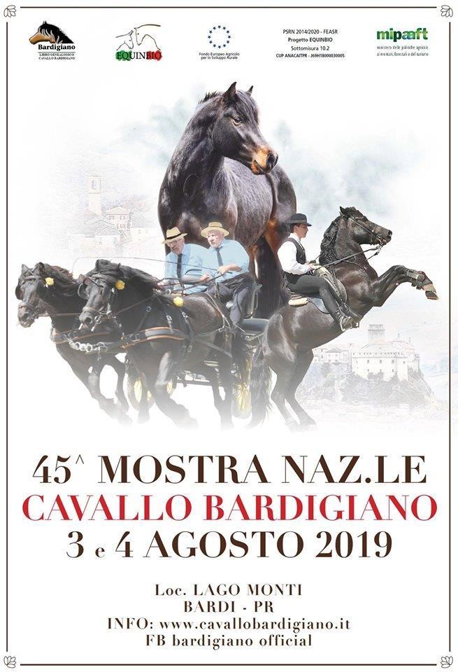45^ Mostra Nazionale Cavallo Bardigiano