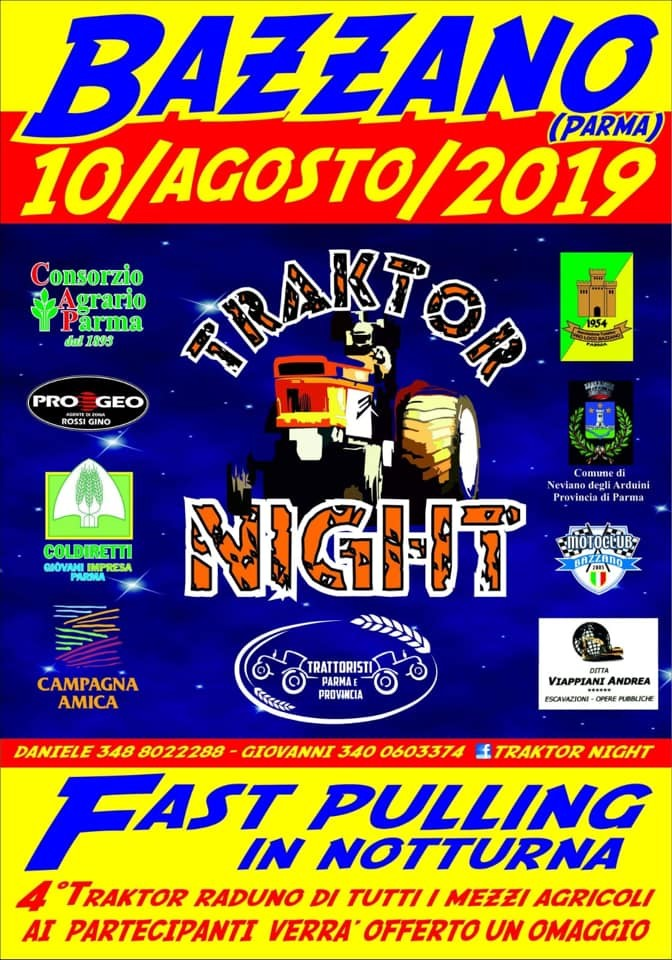 Traktor night a Bazzano