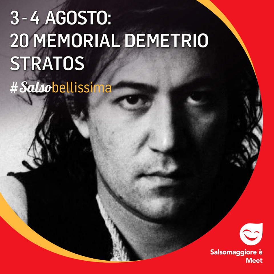 20 memorial DEMETRIO STRATOS