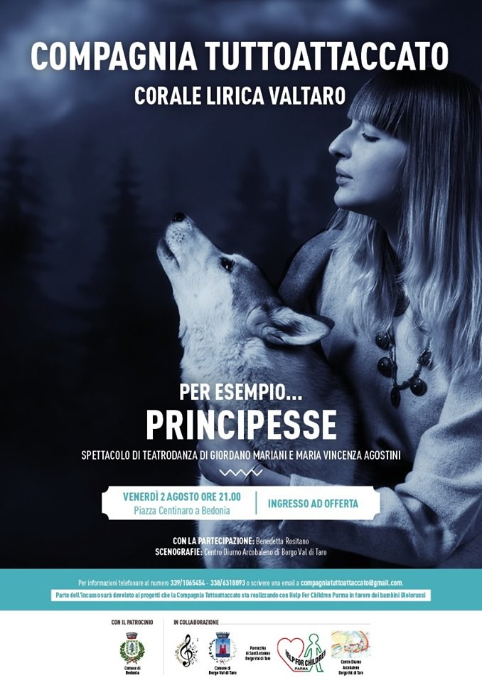 """Spettacolo di Teatrodanza """"Per esempio... Principesse"""""""