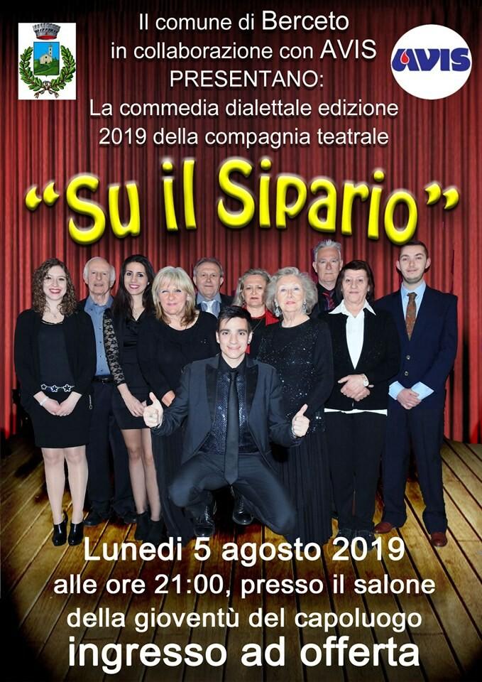 """""""Su il sipario"""" commedia dialettale  a Berceto"""