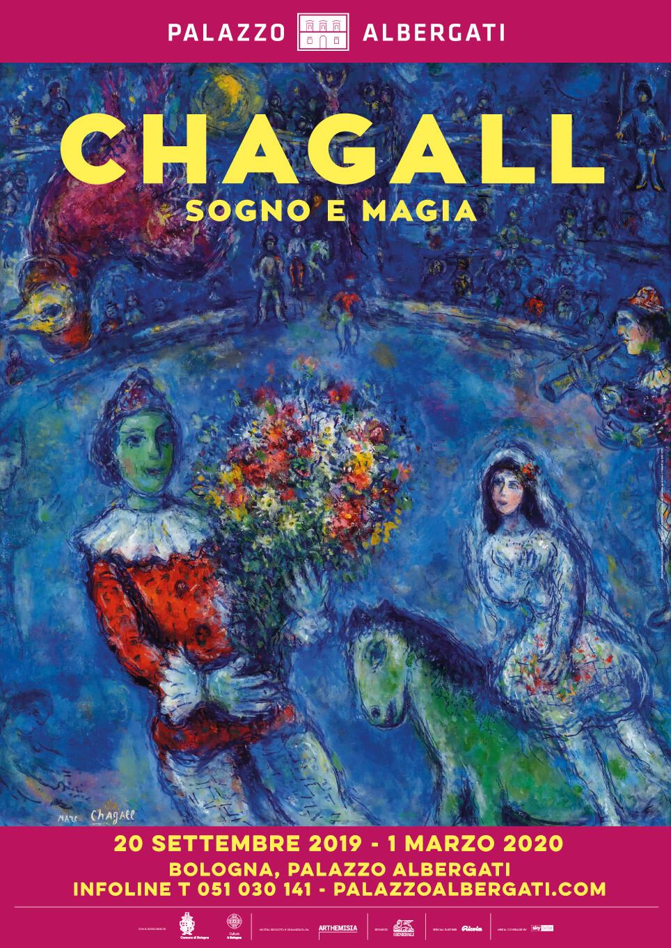 Chagall. Sogno e magia in mostra a Palazzo Albergati, Bologna