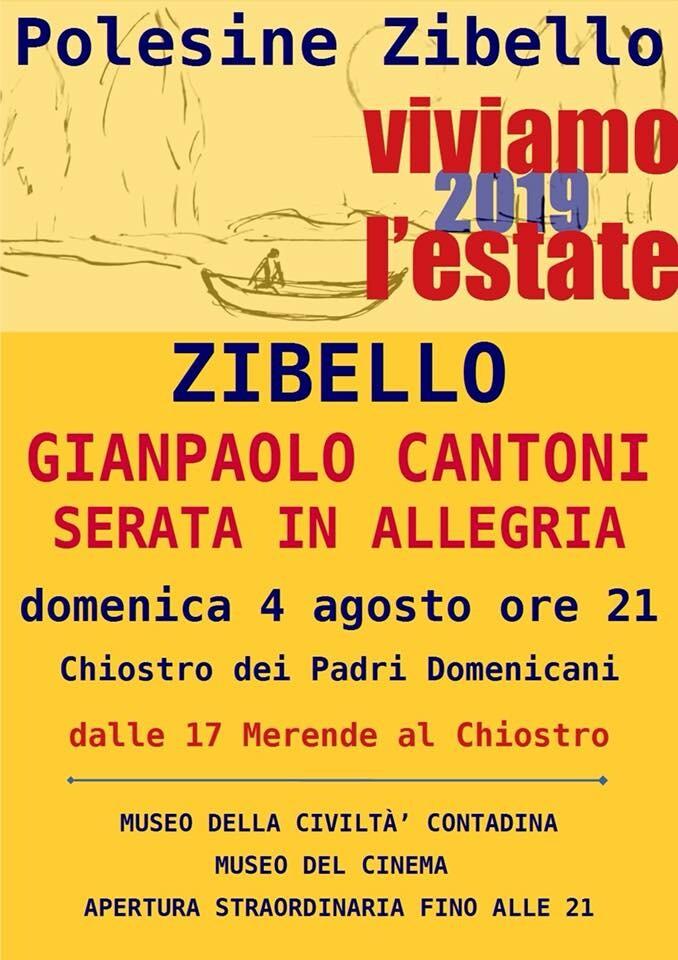 Viviamo l'estate a Zibello: le barzellette di Cantoni e ...