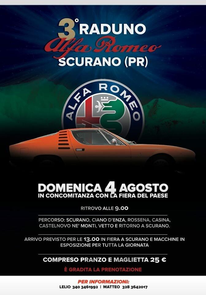 Raduno Alfa Romeo a Scurano