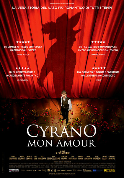 Esterno Notte! il cinema nella Corte del Palazzo delle Orsoline OF: CYRANO, MON AMOUR