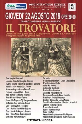Il Trovatore al Teatro Giuseppe Verdi