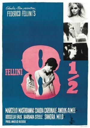 Maestri del cinema dell'Emilia-Romagna  8 1/8  di Federico Fellini al Cinema D'Azeglio arena estiva