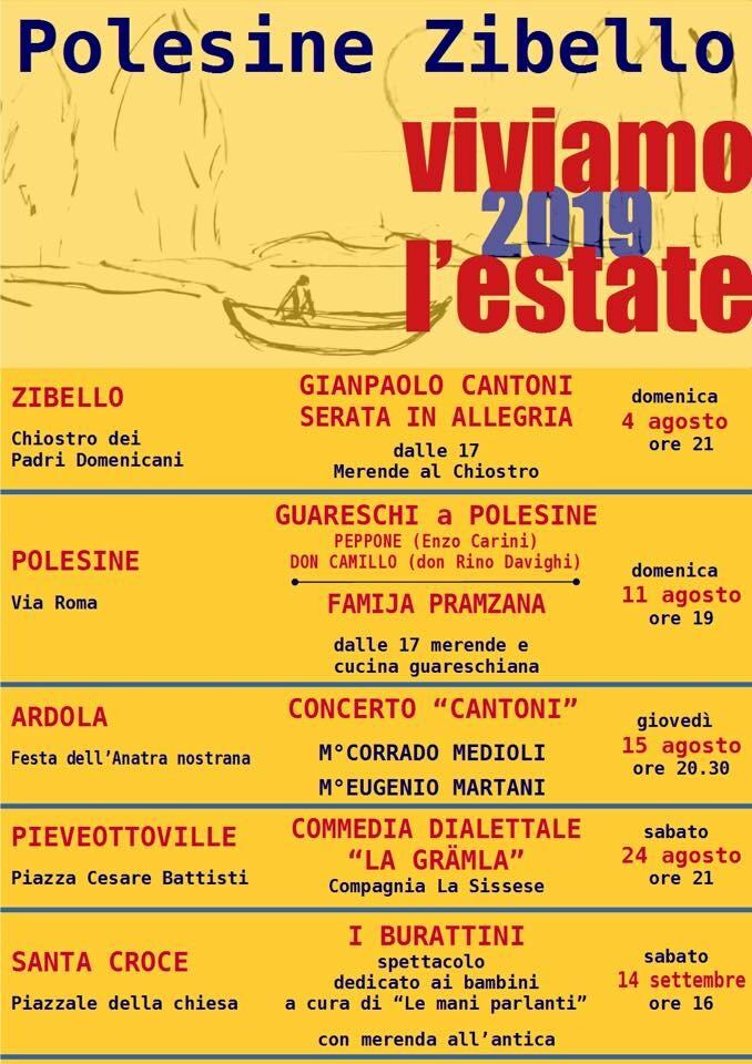 Viviamo l'estate 2019 a Polesine - Zibello