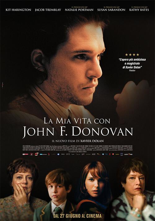 La mia vita con John F. Donovan  al  Cinema D'Azeglio arena estiva - Prima visione