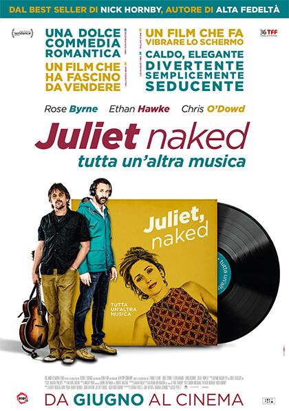 Juliet Naked all'arena estiva del  Cinema Astra