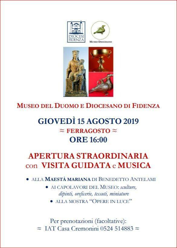 Ferragosto al Museo del Duomo e Diocesano di Fidenza